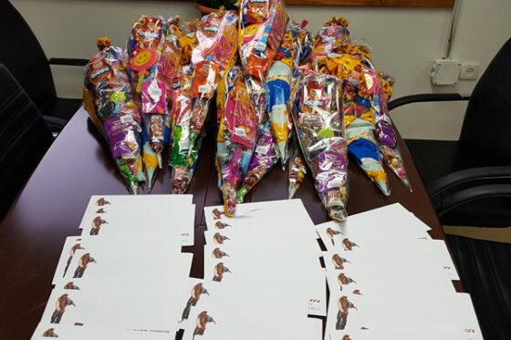 Presents for Purim for new repatriates