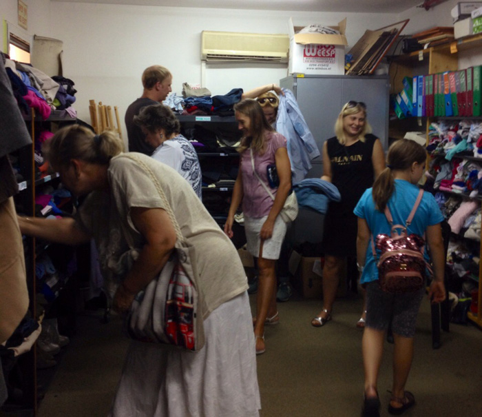 Clothes for free for adults and children
