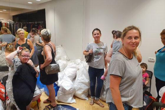 Humanitarian warehouse operation summer 2019 Afula