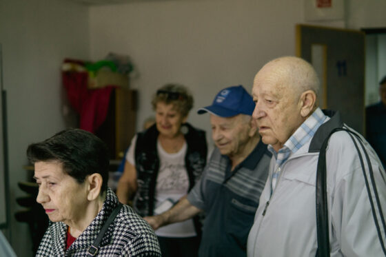 We're helping the prisoners of Migdal HaEmek ghetto